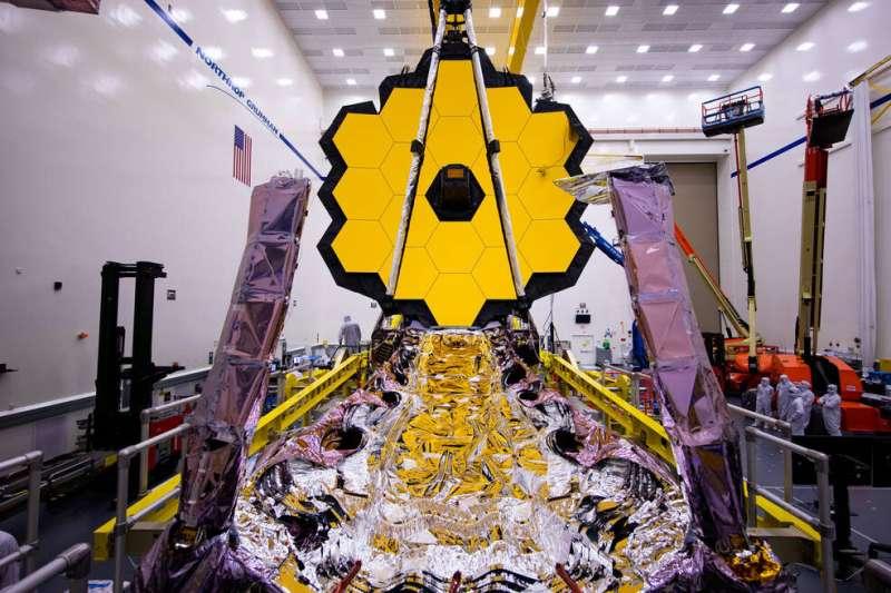 NASA's Webb Telescope packs its sunshield for a million mile trip