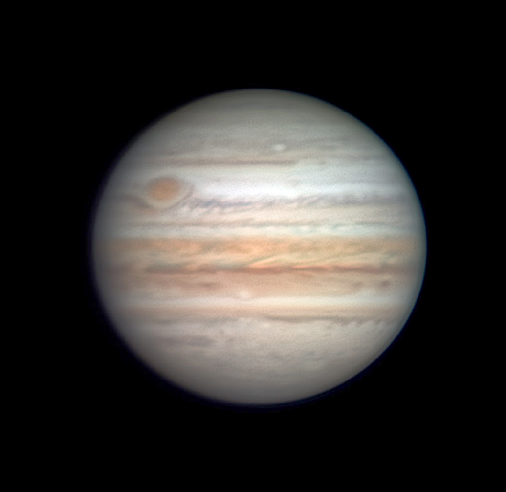 Jupiter on April 13, 2021